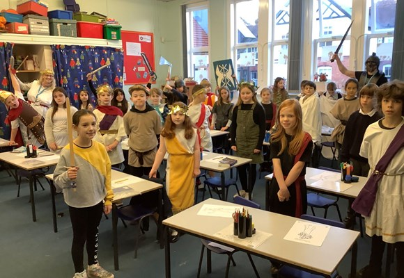 Year 4 Romans Day