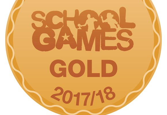 School Games Gold Kite Mark Award