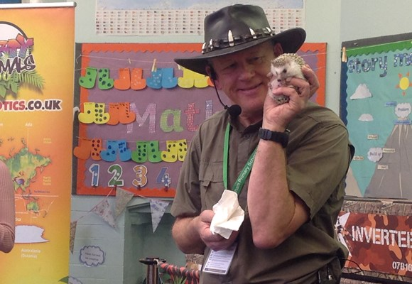"Year 1 ""Animal Man"" visit"