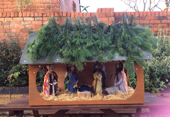 Coleham's Nativity Scene