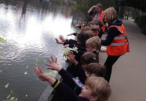 EYFS's Riverside Walk