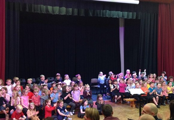 Year 1 Concert at Belvidere School