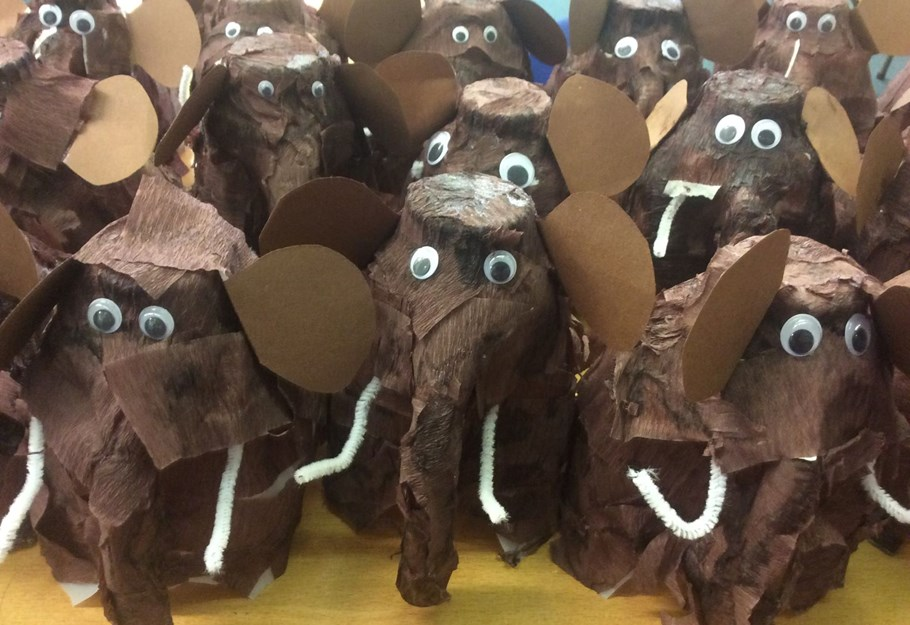 Year 3's Woolly Mammoths