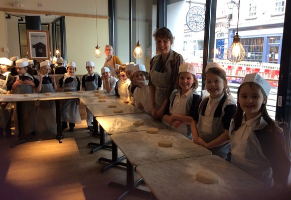 3Y Visit to Pizza Express